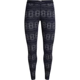 Icebreaker 250 Vertex Crystalline Leggings Dames, midnight navy
